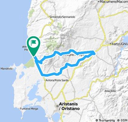 La Baja - Paulilatino loop tour