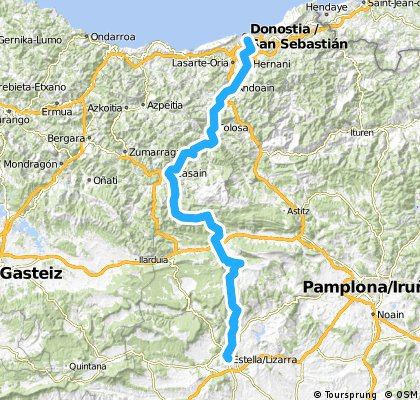 Cycle to Spain - Day 13 - 22/04/15
