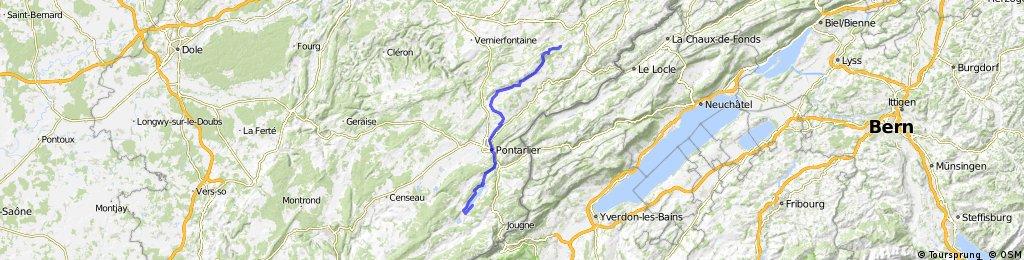 Jura Tour: Luisans -> Malbuisson