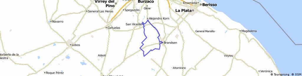 Domselaar SAn Vicente. Loma Verde-SAn Borombon-Puente Once Bocas