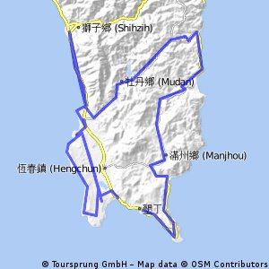 2015 Ironman Taiwan bike course
