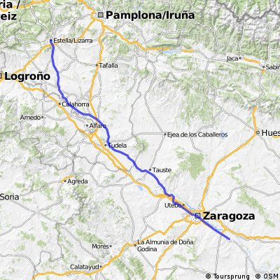 Cycle to Spain - Day 14 - 23/04/15