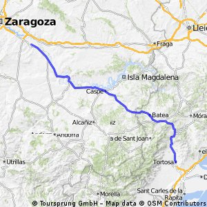 Cycle to Spain - Day 15 - 24/04/15