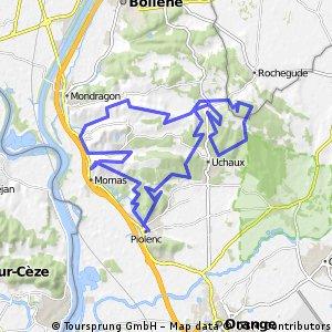 PIOLENC 49 KM