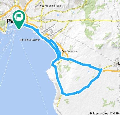 Palma, Arenal, Cala Blava