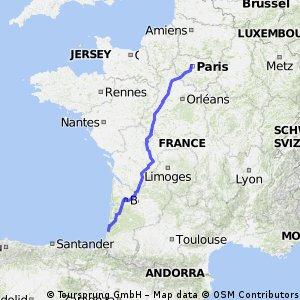 Paris to Leon