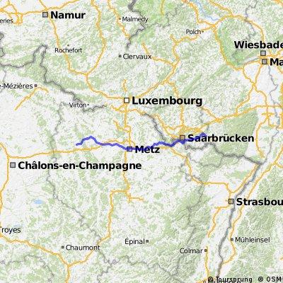 Zweibrücken-Verdun 194km 1360hm