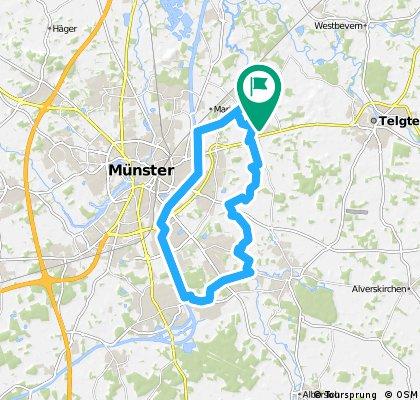 Werseradweg - Kanal