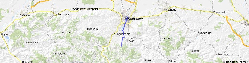 Green Velo Rzeszów, łącznik do PKP
