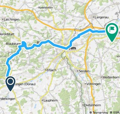 201407-04 Donauradweg  Ehingen - Blaubeuren - Leipheim