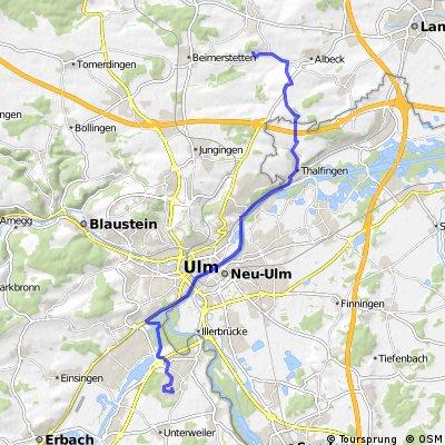 201405-02 Iller - Donau - Zusam  Ulm - Hörvelsingen