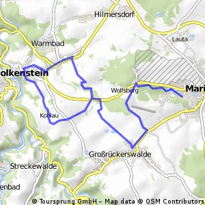 Marienberg-Wolkenstein Runde