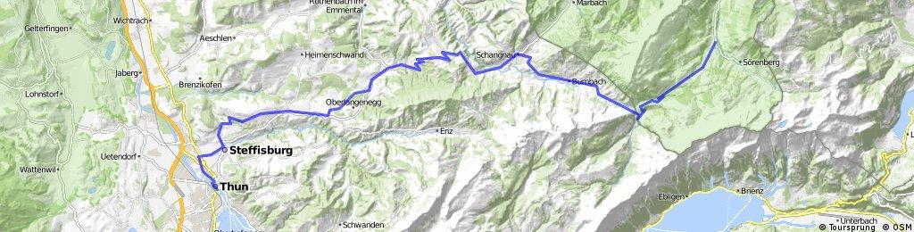 Alpine Tour: Thun - Fluhli