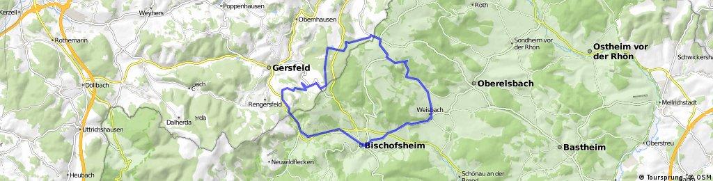 Rhön: Panoramatour bei Bischofsheim