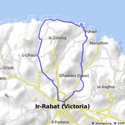 MALTA anello Victoria-Salt Pans-Victoria