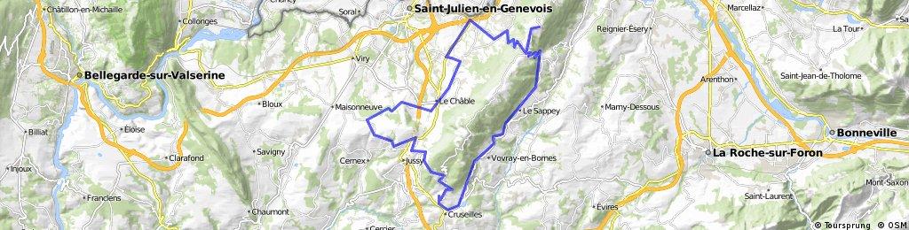 Mont Saleve Loop via St. Blaise