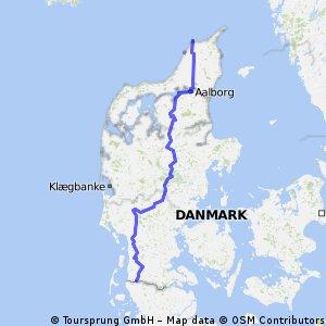 Danmark (Hirtshals- tyskegrensa)- Aventoft