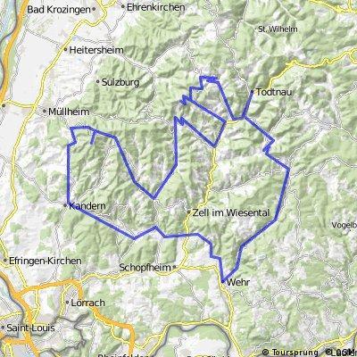 Todtnau-Wehratal-Blauen-Belchen-Todtnau