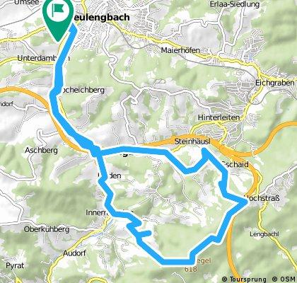 Schoderleh - Strecke Teilstück Hasenriegl