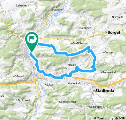 8. Tour - über  den Fuchsturm nach Schöngleina