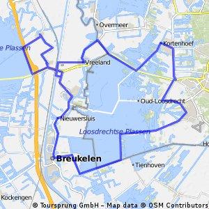 52. Loosdrechtse plassen en Hollandse waterlinie