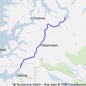 T7 19.07.09 Sagelvvatn-Bjervik