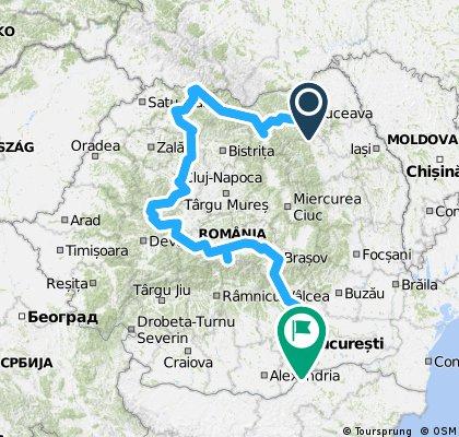 Turul României cu Geriatria în 2015