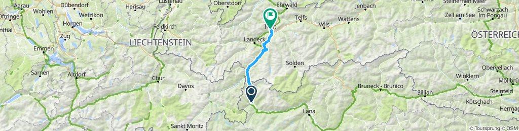 Singlikate Via Alpia 2015 IV etapp 86 km