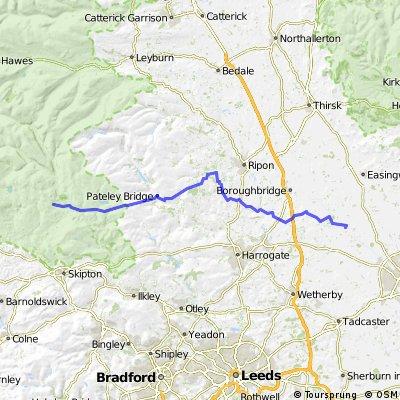 Route England/Scotland day 3