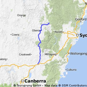 Goulburn to Lithgow