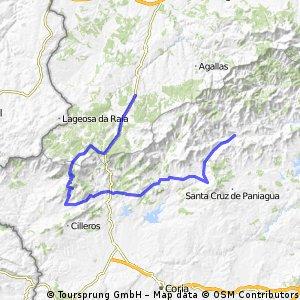 Acampada mochilera en Pinofranqueado día 3