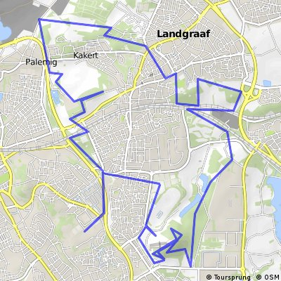 Cycling routes and bike maps in and around Heerlen Bikemap Your