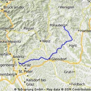 Graz - Pöllau Tour