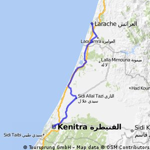 #42 El Araich to Kenitra