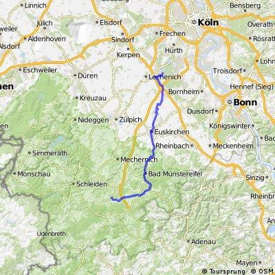 Erft-Radweg - Quelle bis Sindorf