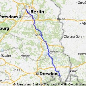 Von der Spreequelle bis Berlin