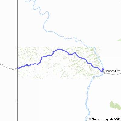 02-Alaska-Yukon dal confine con l'Alaska a Dawson City
