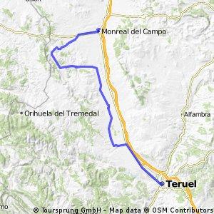 14 - Monreal del Campo to Teruel