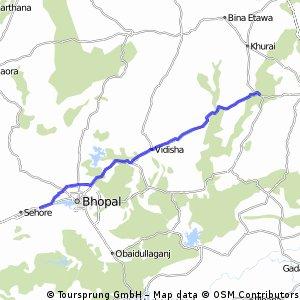Sehore Bhopal to Rahatgarh Sagar
