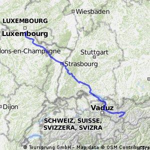 ischgl - luxemburg