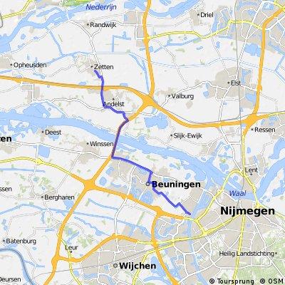Zetten - Nijmegen