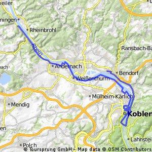 Mittelrheintal Koblenz