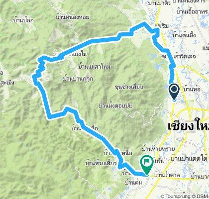 Samoeng loop - anti-clockwise