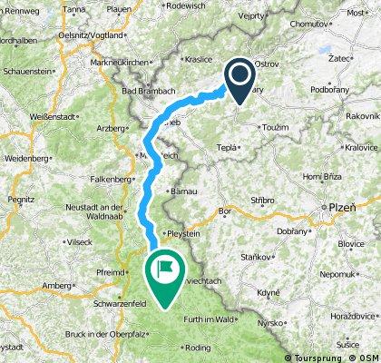 32. ITF BERLIN-ROM -- 3. Etappe 136 km