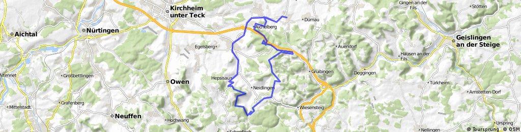 Boll - Reußenstein Trailrunde