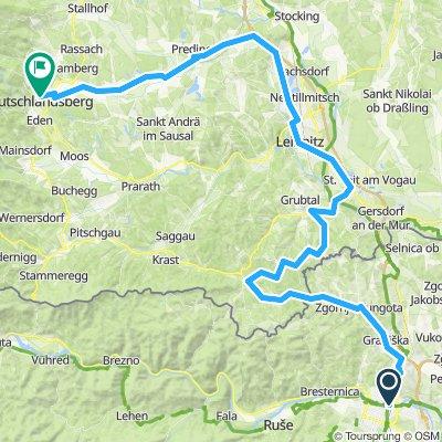 U73-2015: 10. Etappe: Maribor - Deutschlandsberg