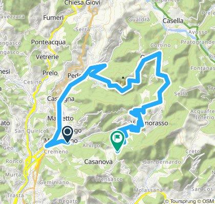 Manesseno-Crocetta d'Orero-Torazza