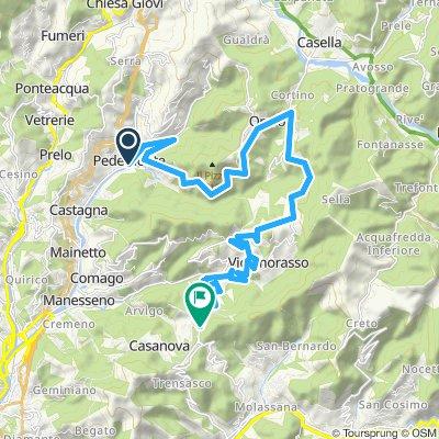 Serra Riccò- Crocetta d'Orero-Torazza