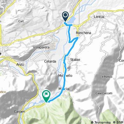 Busche-Caorera ( Lungo il Piave )