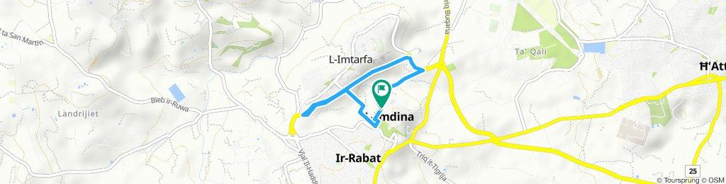 Mdina- Mtarfa-Mdina